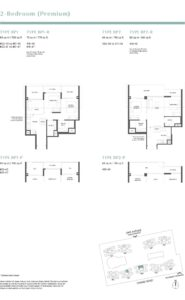 Parc Estat floor plan 2BEDROOMPREMIUM1