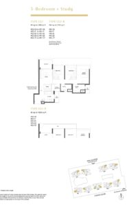 Parc Estat floor plan 3BEDROOMSTUDY1