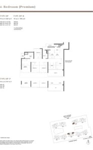 Parc Estat floor plan 4BEDROOMPREMIUM