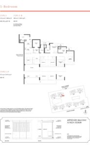 Parc Estat floor plan 5BEDROOM