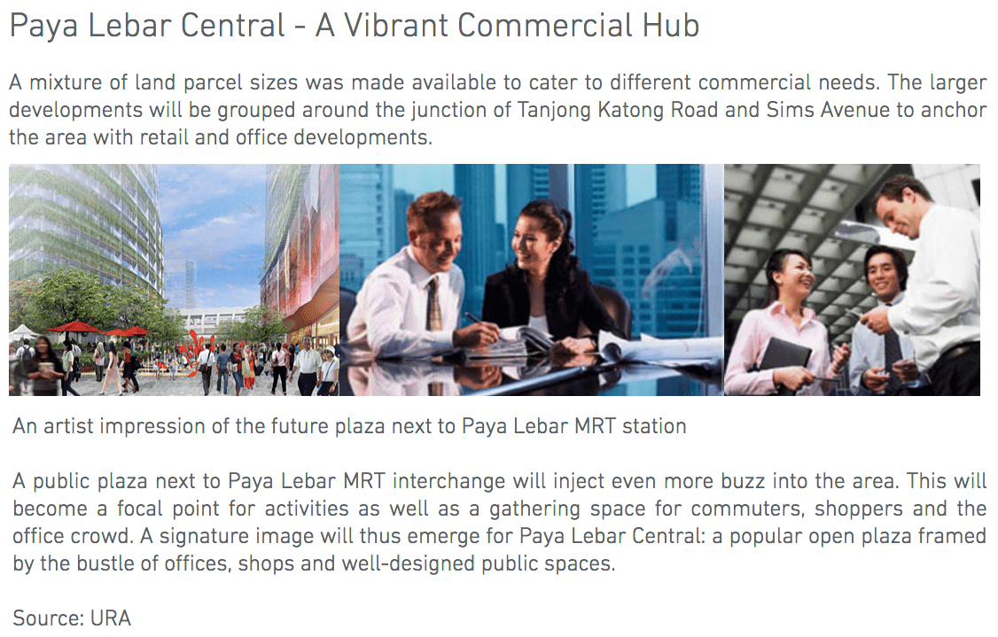 Paya Lebar Transformation