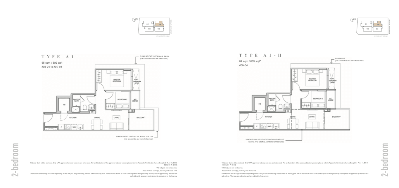 The Addition Floor Plan 2BR