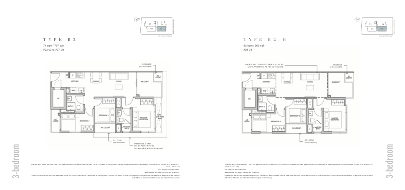 The Addition Floor Plan 3BR-B