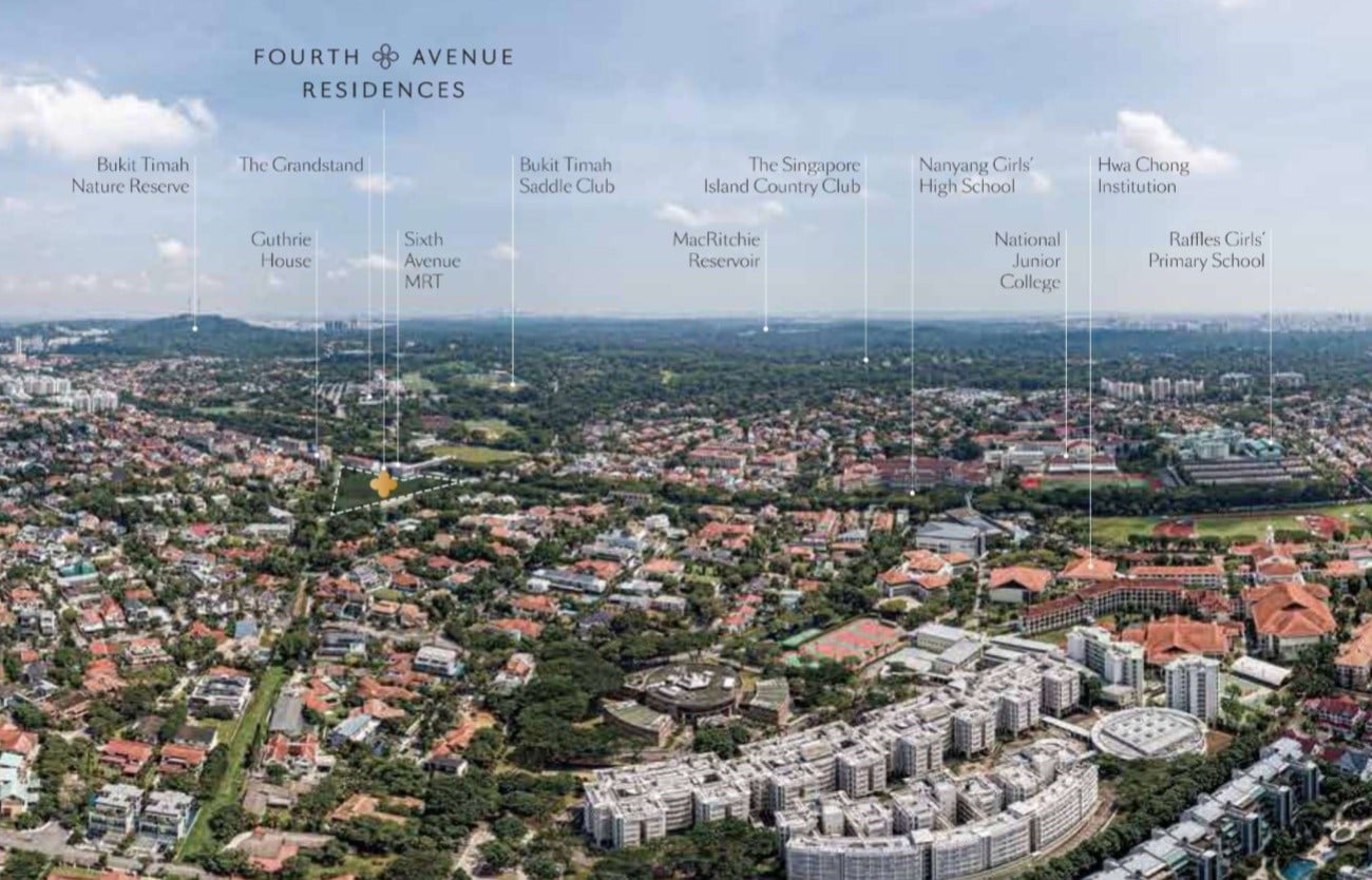 Fourth Avenue-fourth-avenue-residences-site-aerial