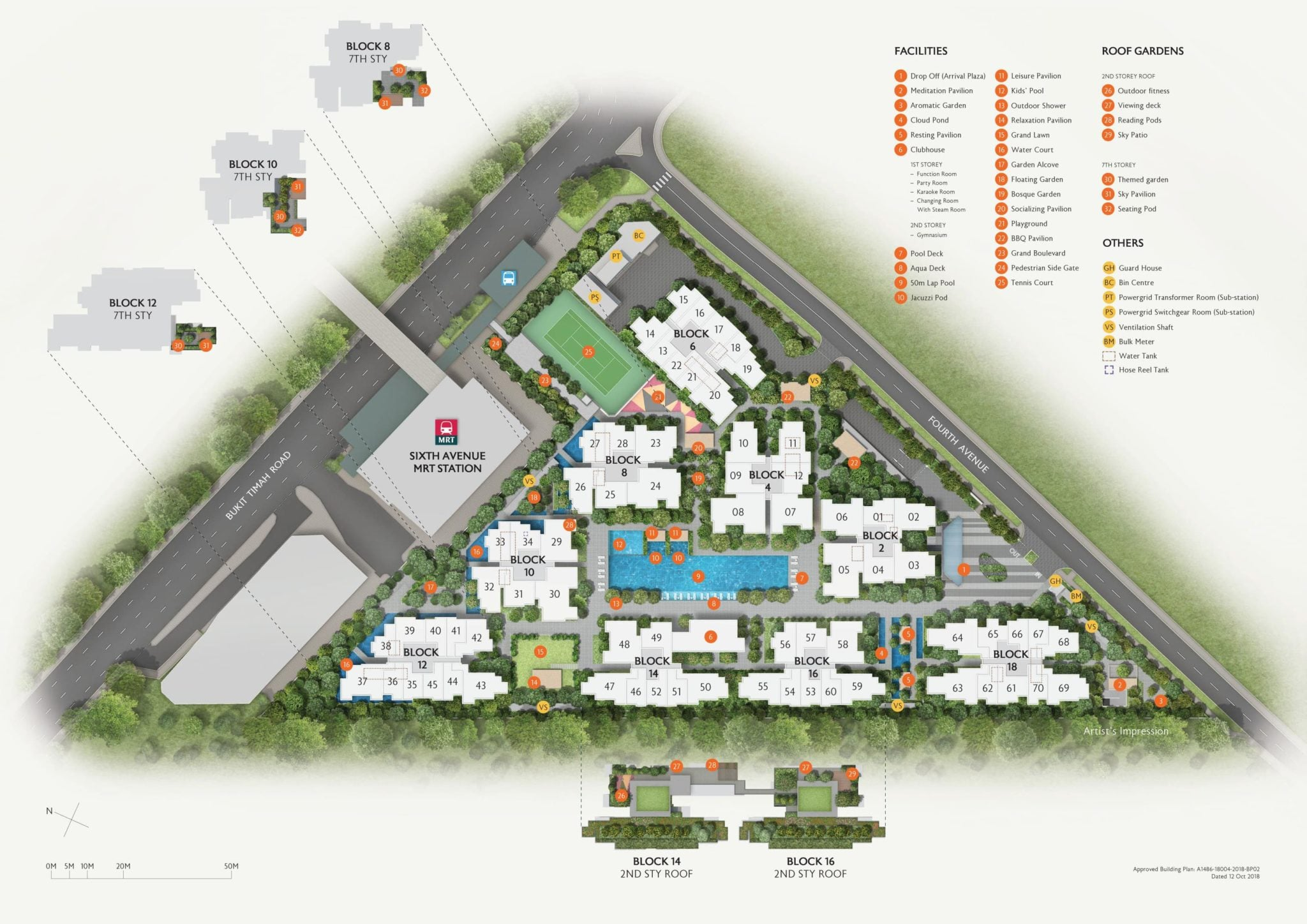 fourth-avenue-sitemap-facilities-2