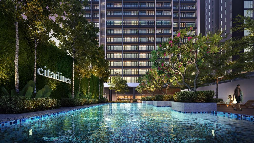 Citadines-Medini-swimming pool