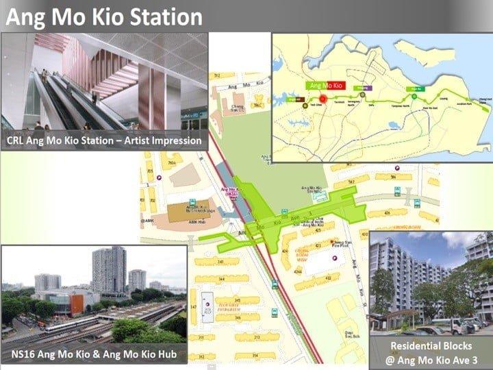 Condo Nearby Cross Island Line CRL Ang Mo Kio Station