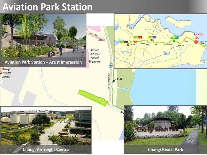 Condo Nearby Cross Island Line CRL Aviation Park Station