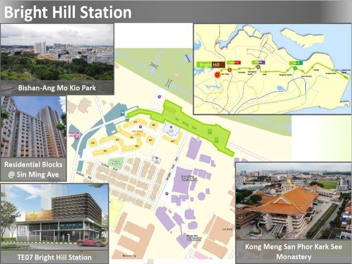 Condo Nearby Cross Island Line CRL Bright Hill Station