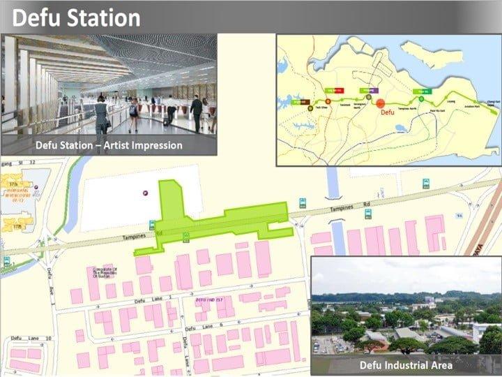 Condo Nearby Cross Island Line CRL Defu Station