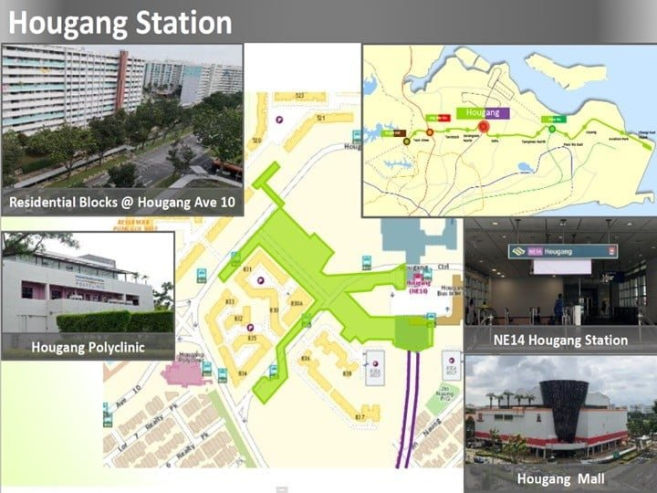 Condo Nearby Cross Island Line CRL Hougang Station
