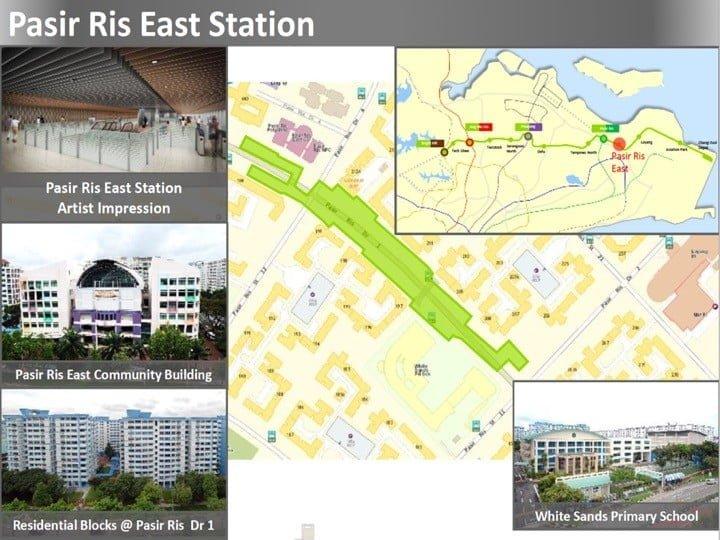 Condo Nearby Cross Island Line CRL Pasir Ris East Station
