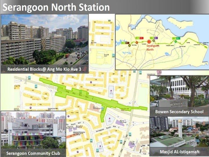 Condo Nearby Cross Island Line CRL Serangoon North Station