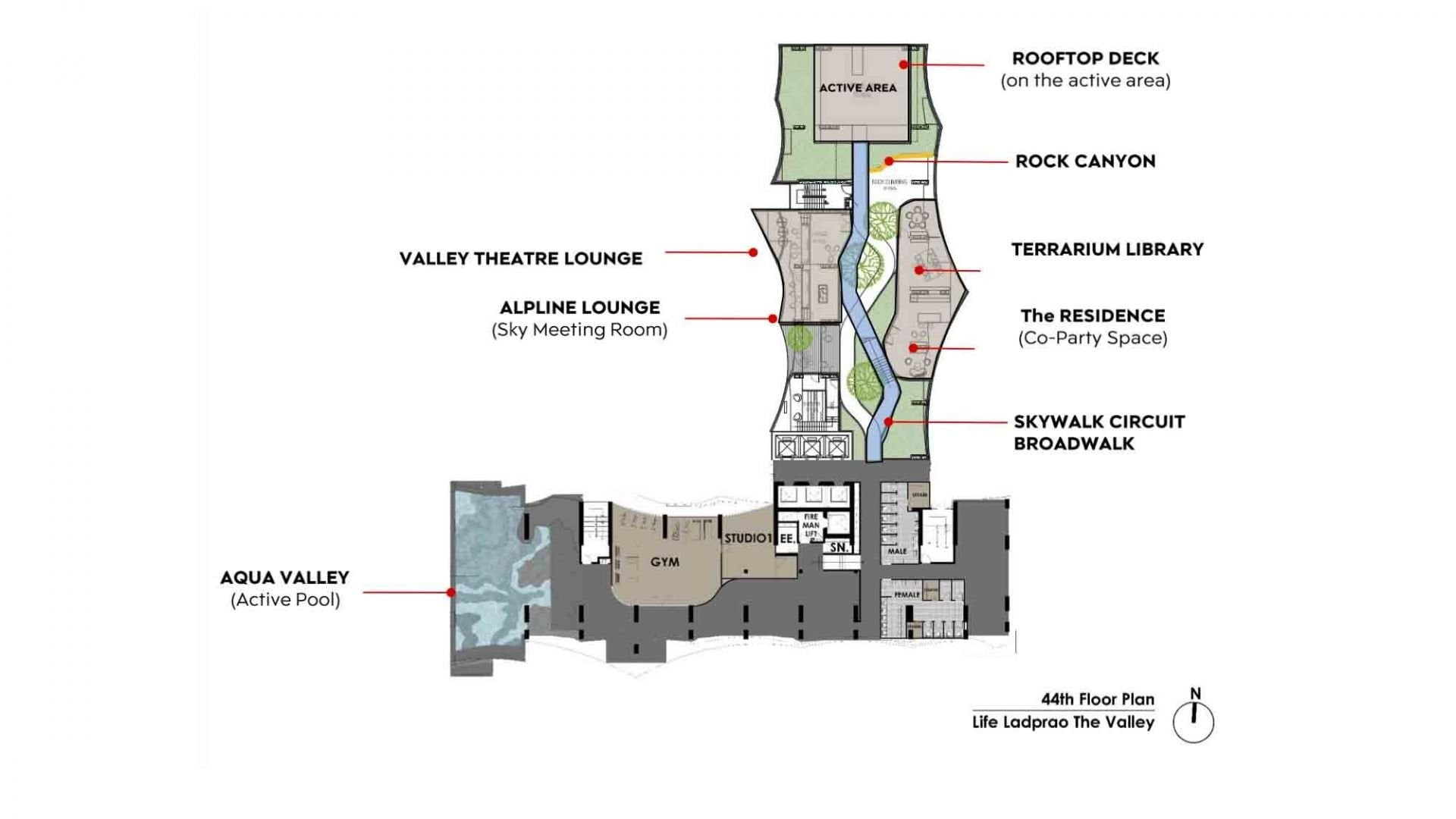 Life_Ladprao_Valley_Facilities_Floor_