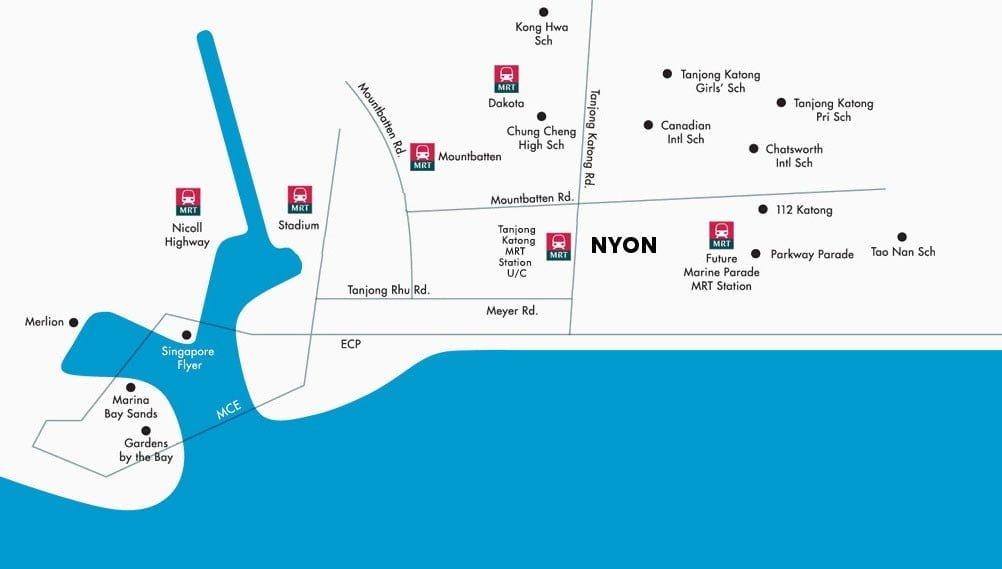 Nyon-Location-Map