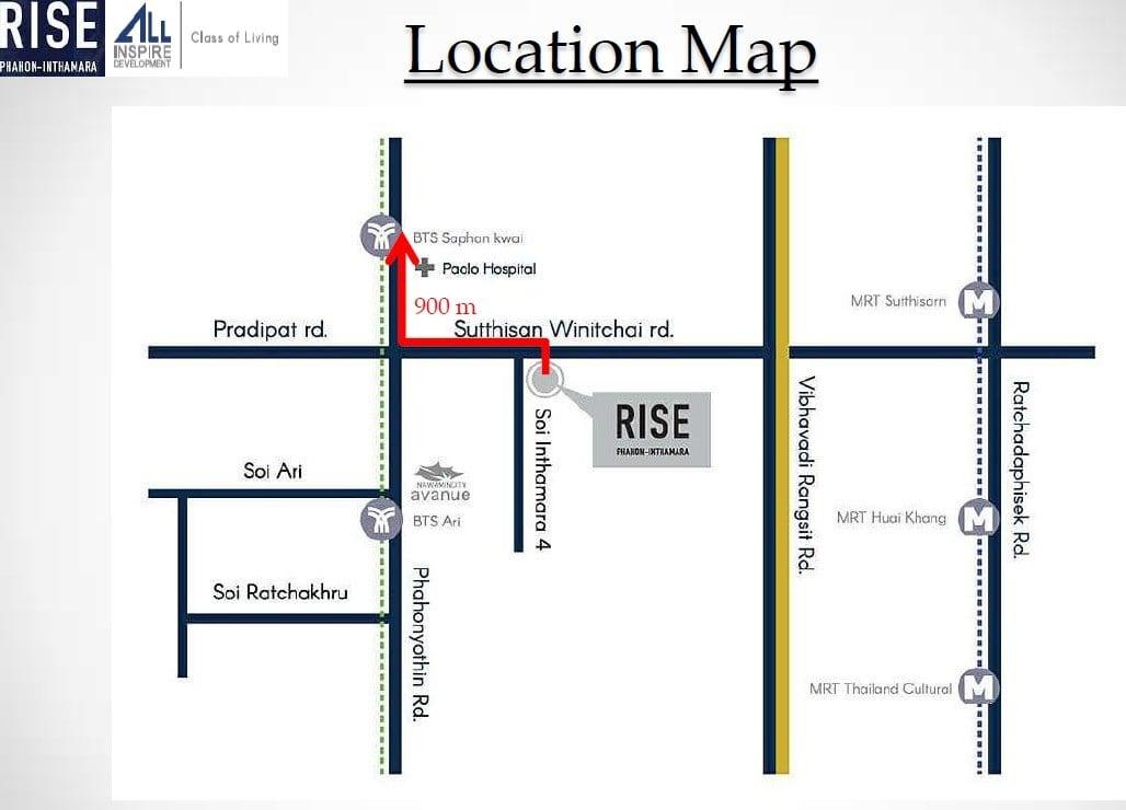 Rise-Phahon-Inthamara-Bangkok-Location-Map-1