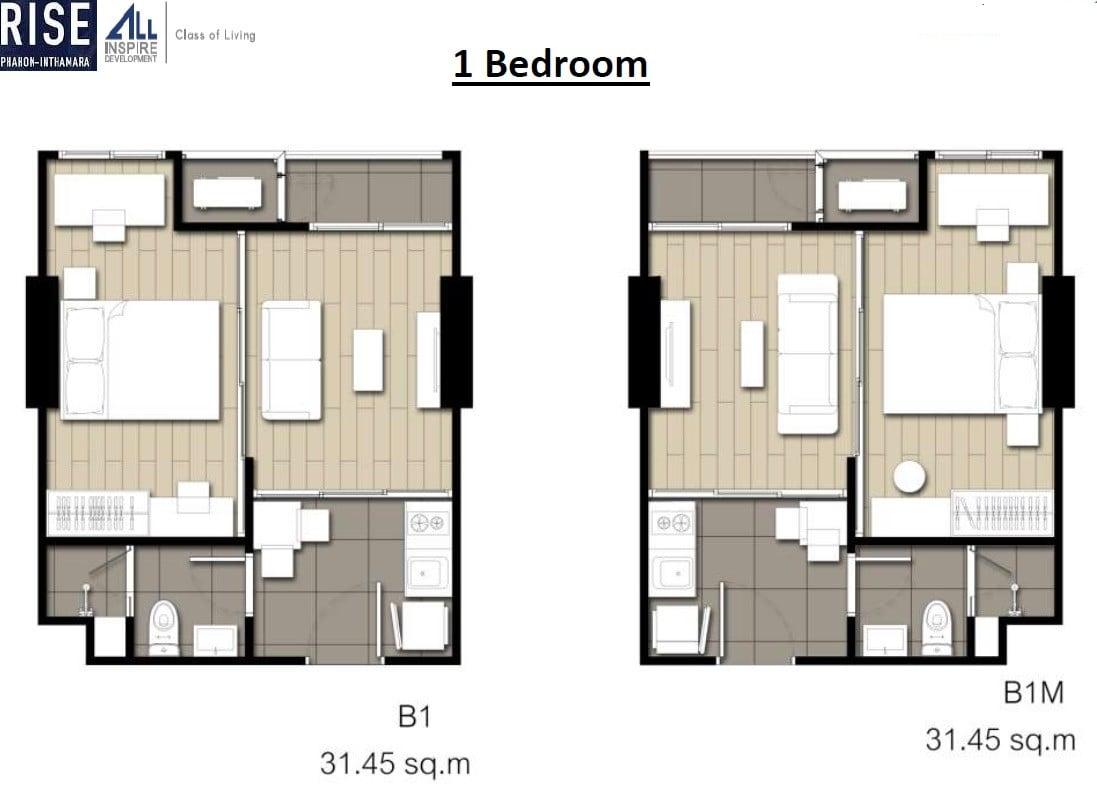 Rise-Phahon-Inthamara-Floor-Plan-1BR