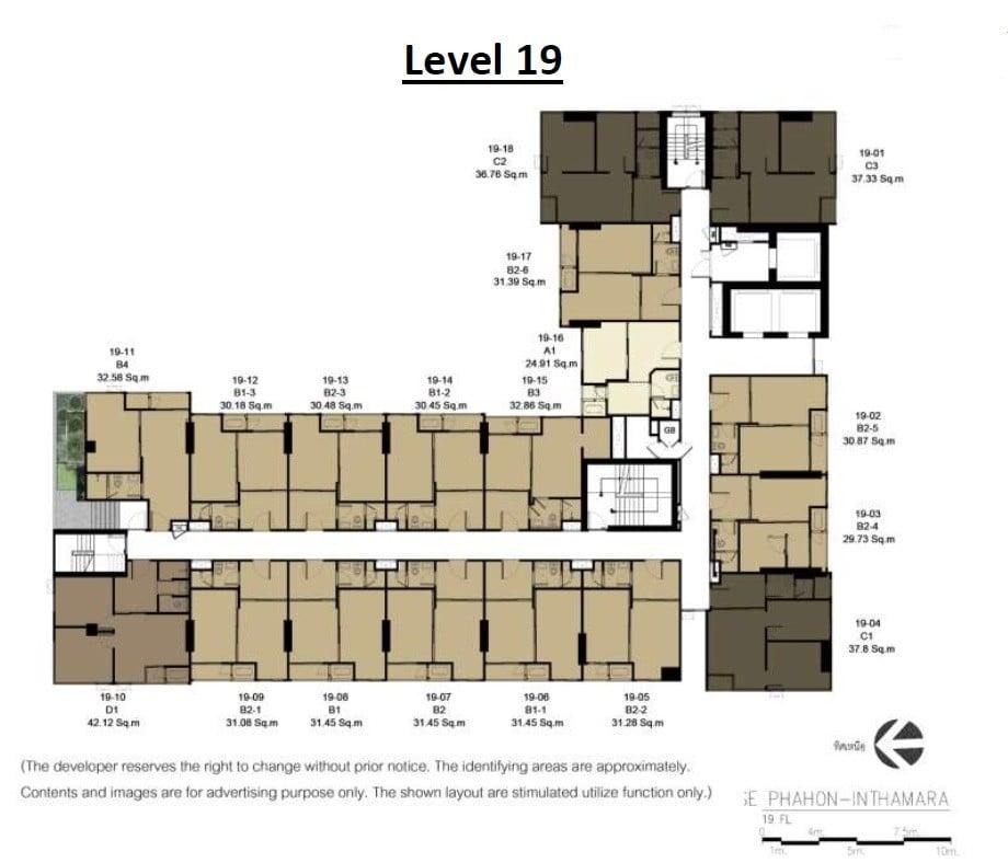 Rise-Phahon-Inthamara-Site-Plan-Level-19
