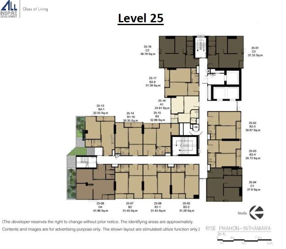 Rise-Phahon-Inthamara-Site-Plan-Level-25