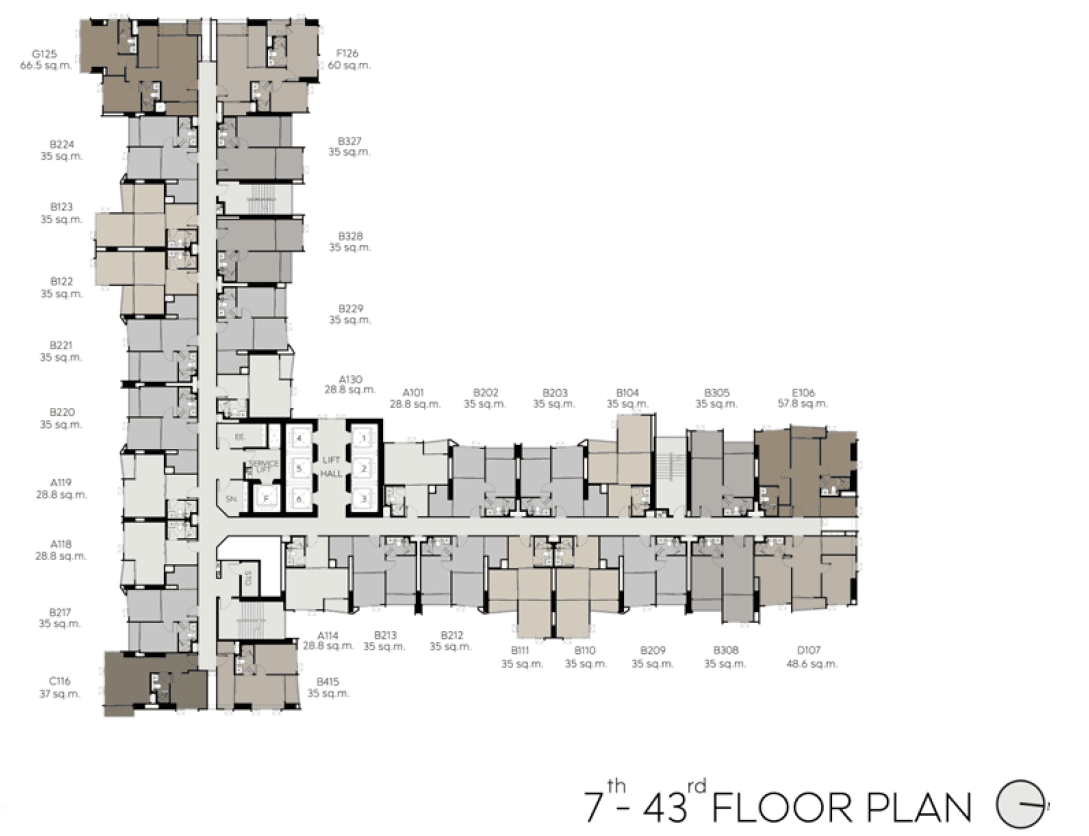 Typical-Floor-Plan-Level-7th-43rd