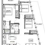 1953-Condo-Oxley-Floor Plan-3-Bedroom