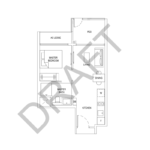 florence-residences-new-condominium-1-bedroom-floor-plan