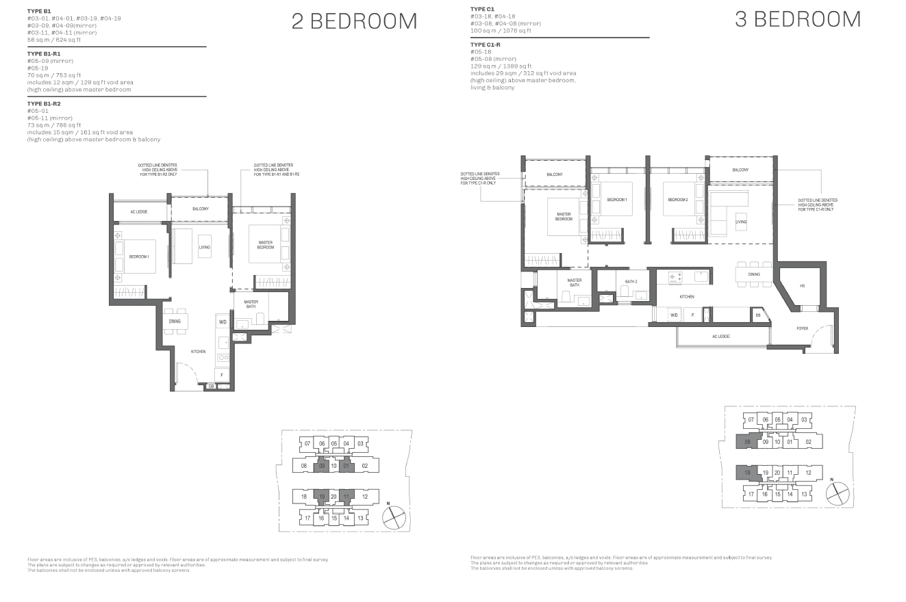 2-and-3-Bedroom