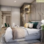 Aspire-Asoke-ratchada-1Bedroom Bedroom
