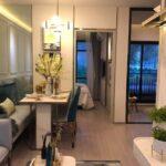 Aspire-Asoke-ratchada-Showunit 1Bedroom Living