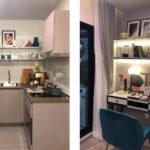 Aspire-Asoke-ratchada- showunit 1Bedroom Kitchen: Study