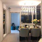 Aspire-Asoke-ratchada-showunit 2Bedroom Dining