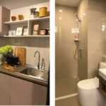 Aspire-Asoke-ratchada- showunit 2Bedroom Kitchen: Study