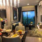 Aspire-Asoke-ratchada-showunit 2Bedroom Living