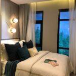 Aspire-Asoke-ratchada- showunit1Bedroom Bedroom