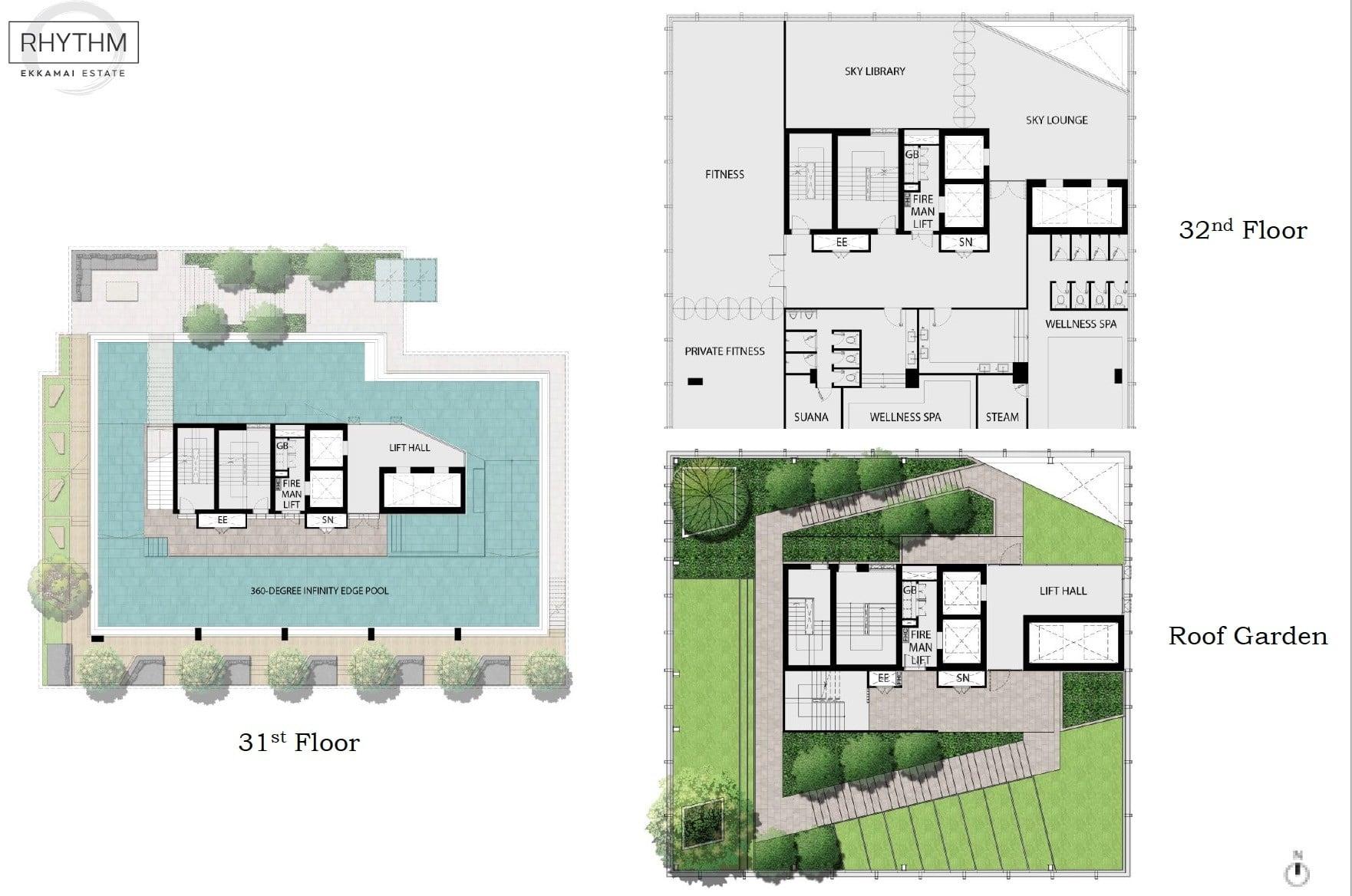 Rhythm-Ekkamai-Estate-Facilities Deck High