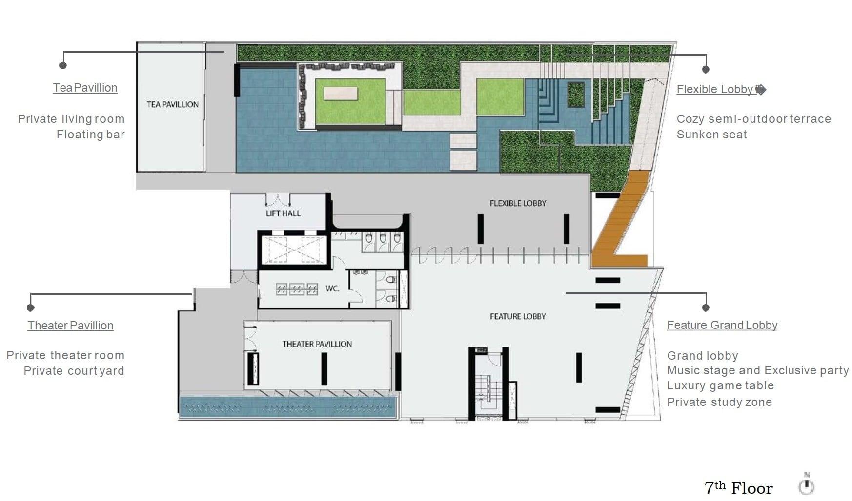 Rhythm-Ekkamai-Estate-Facilities Deck