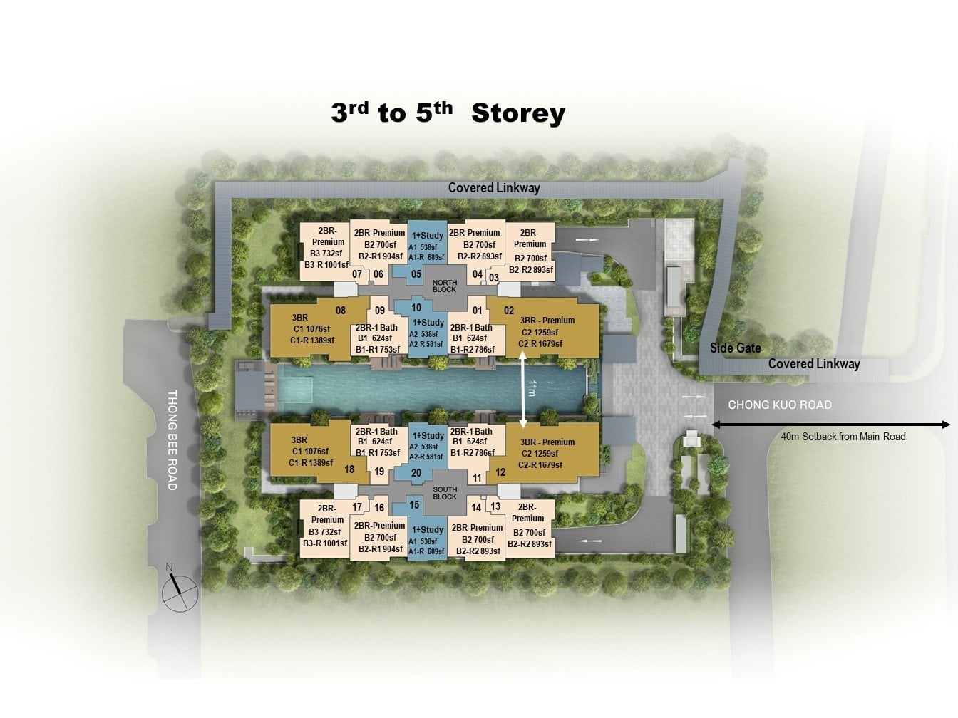 Site-Plan-3rd-to-5th-Storey