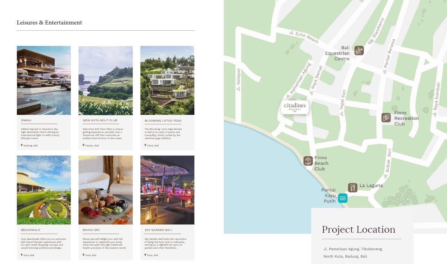 Citadines-Berawa-Beach-Bali-Location