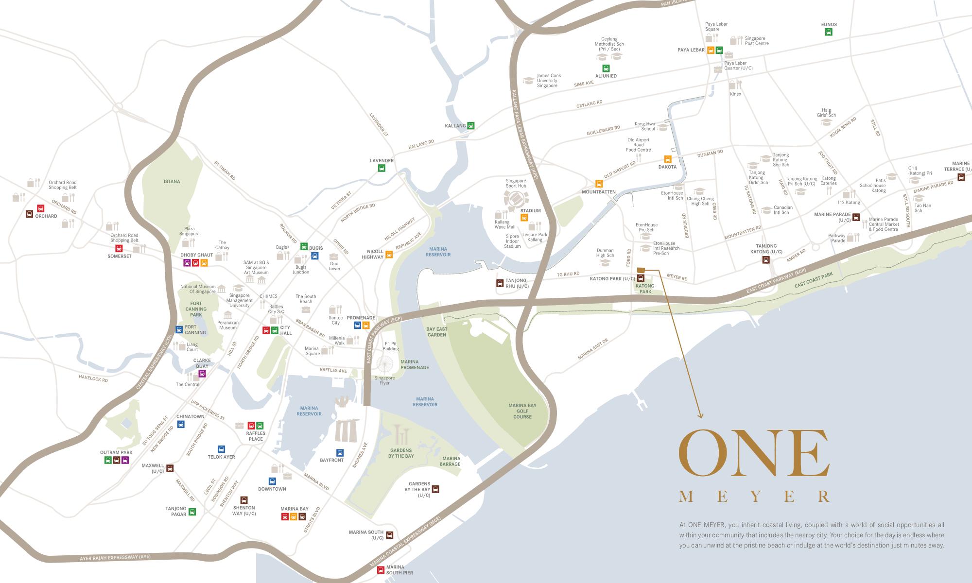 One-Meyer-Condo-Location-Plan