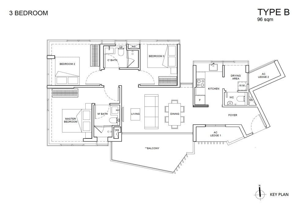 One-Meyer-Floor-Plan-Type-B