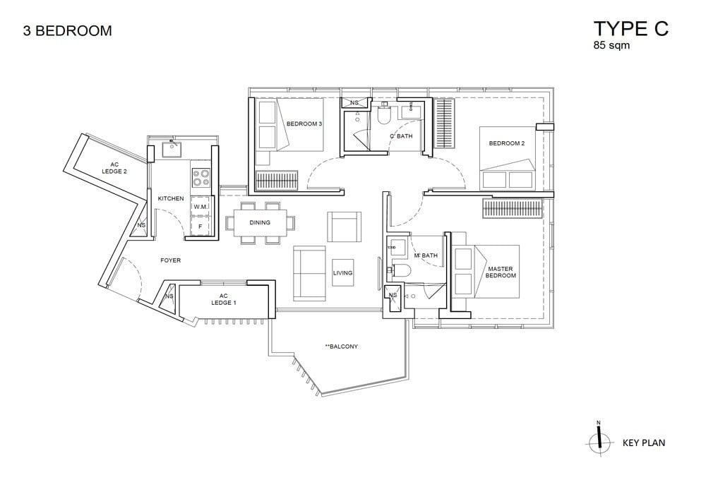 One-Meyer-Floor-Plan-Type-C