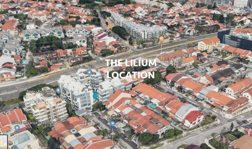 The-Lilium-Condo-Location