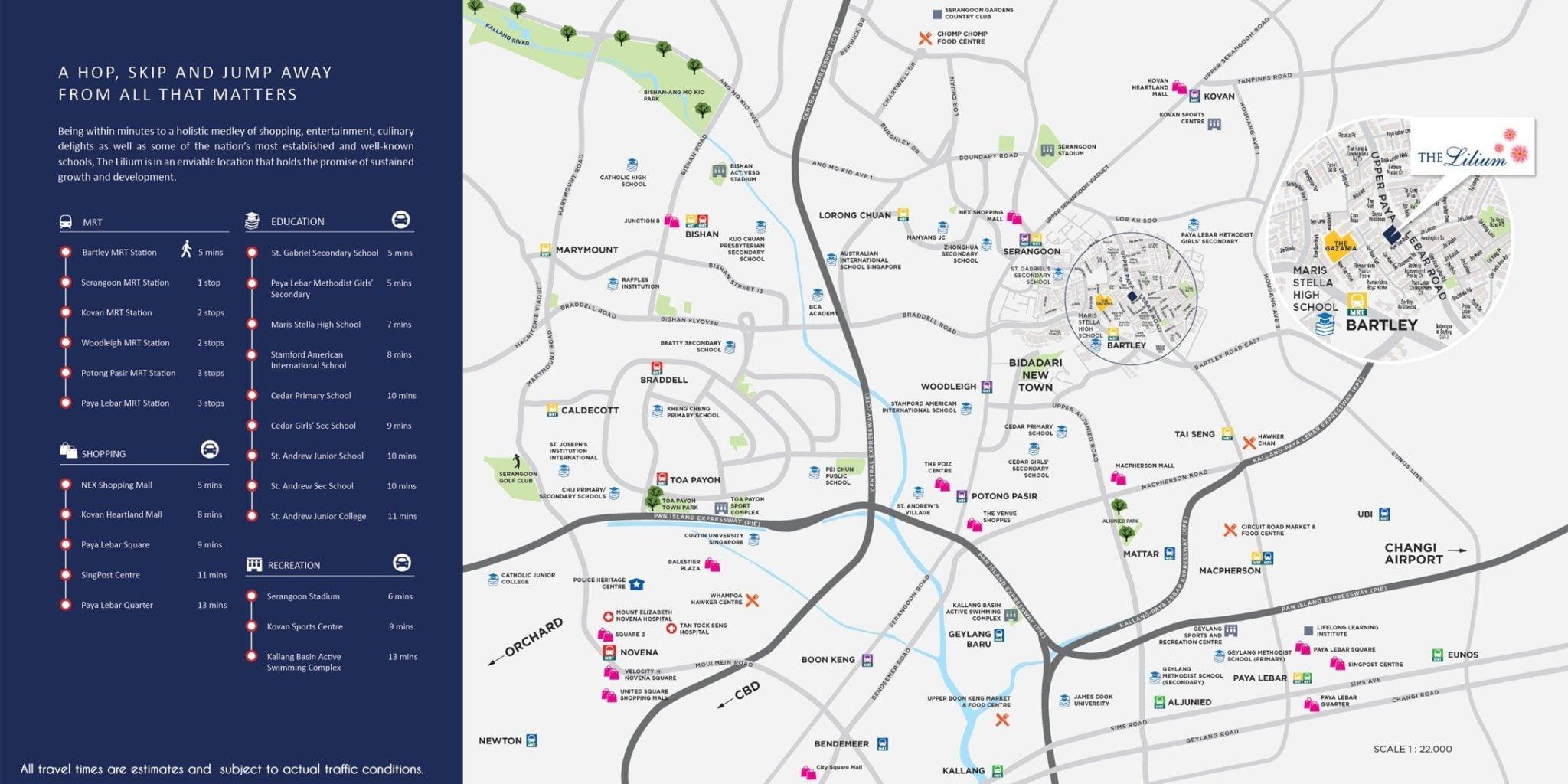 The-Lilium-location-map