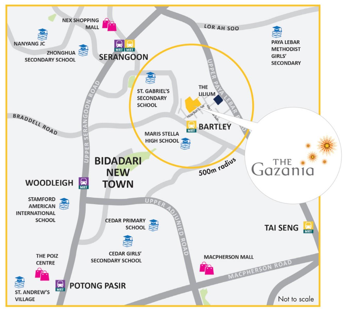 The_Gazania-location