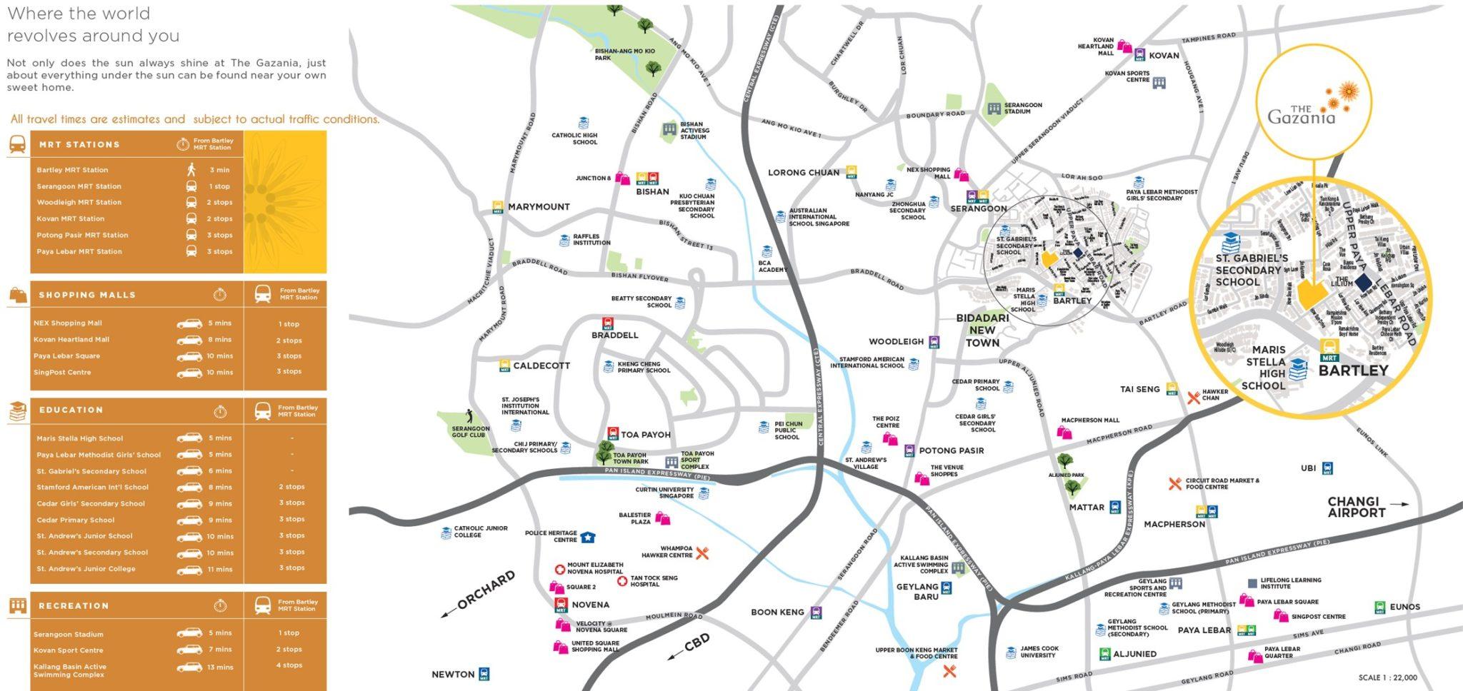 The_Gazania-location_map