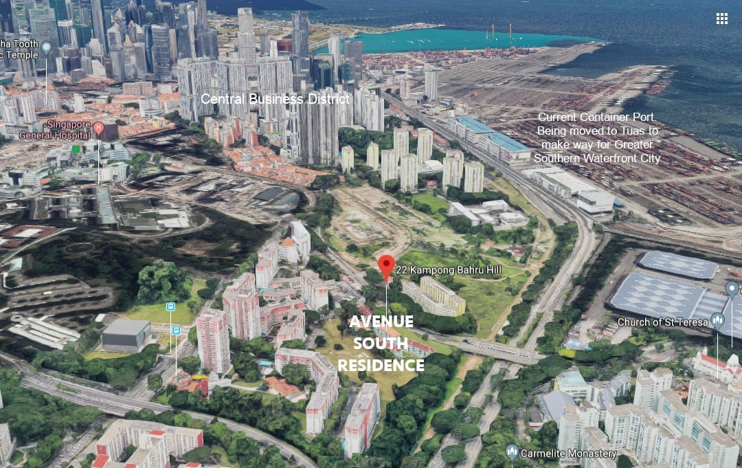Avenue-South-Residence-Location-View