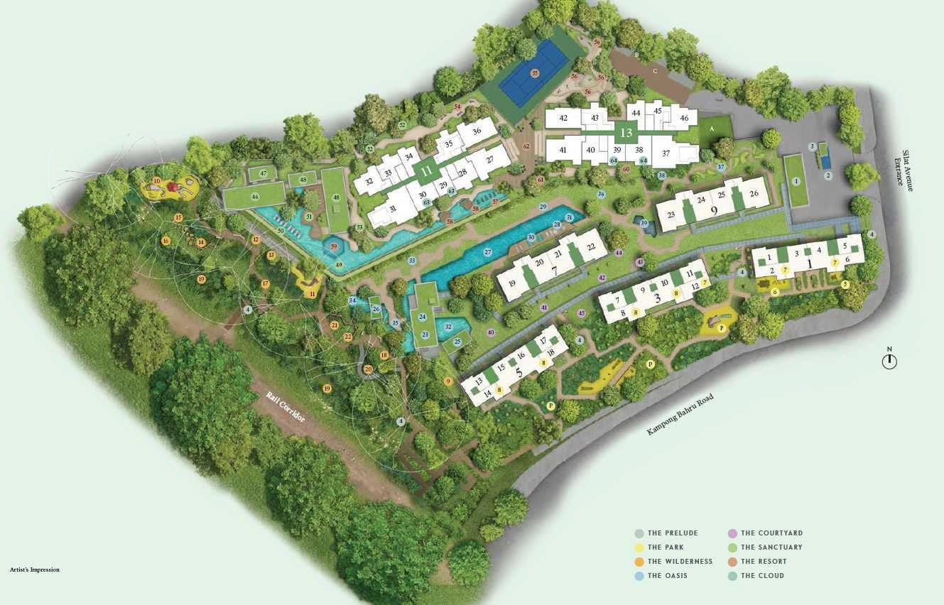 Avenue-South-Residence-Site Plan