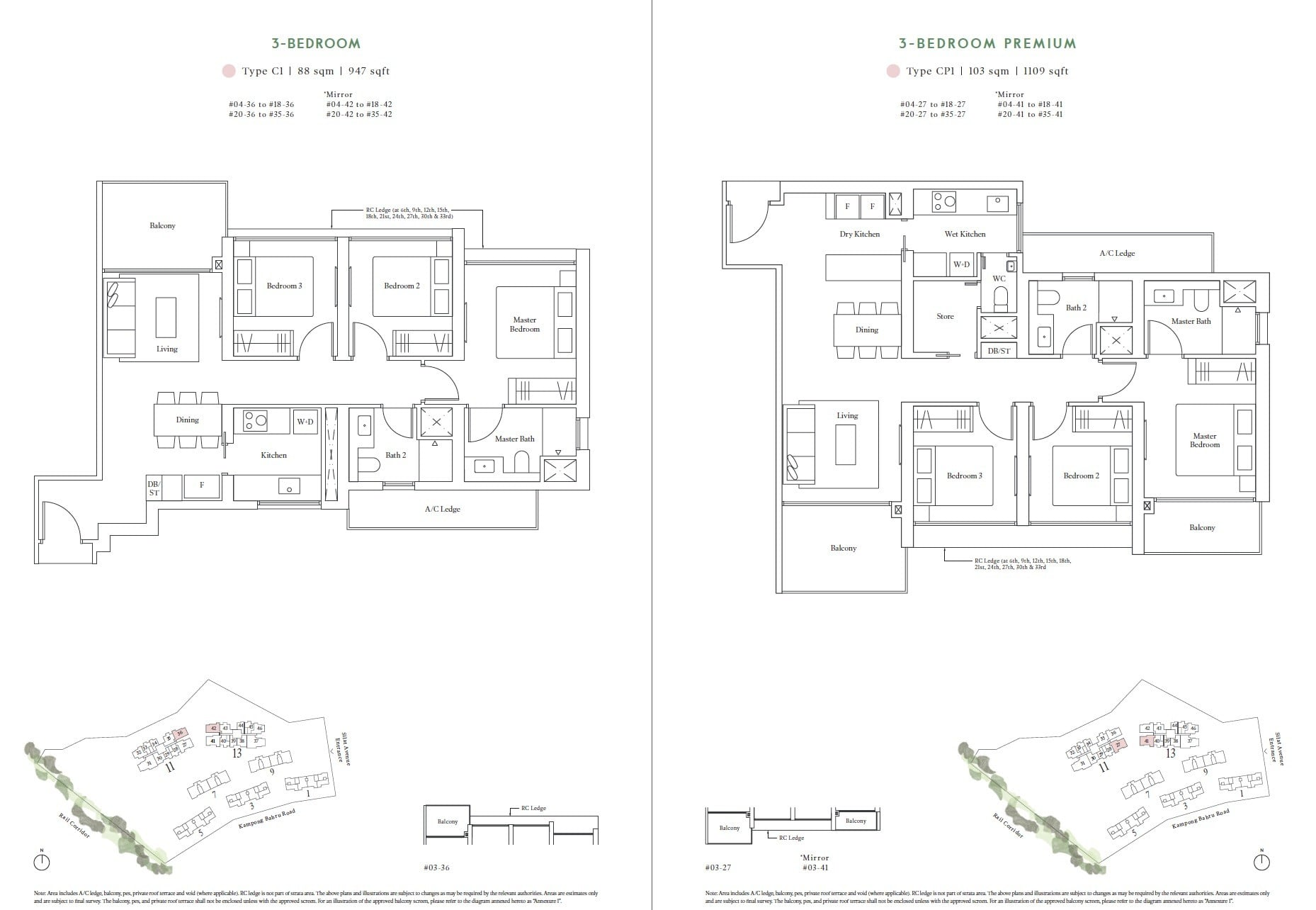 Avenue-South-Residences-FloorPlan 3BR