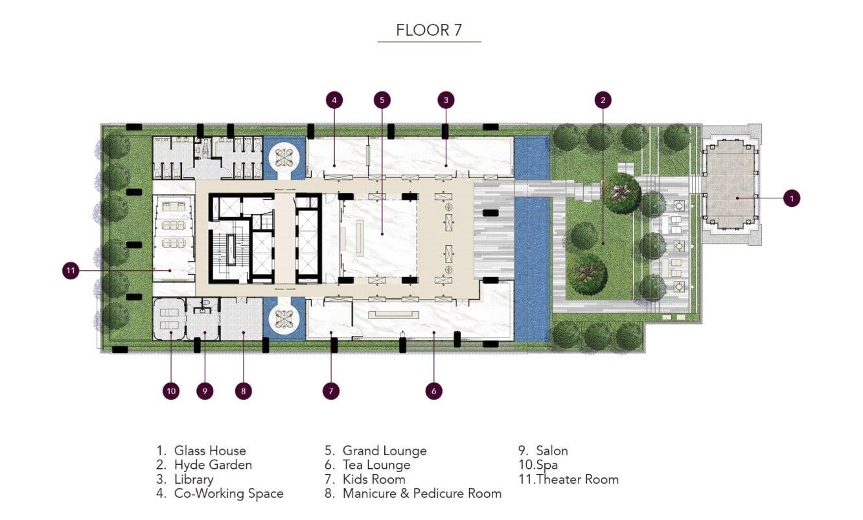 HYDE-Heritage-Thonglor-Facilitiy Deck Level 7