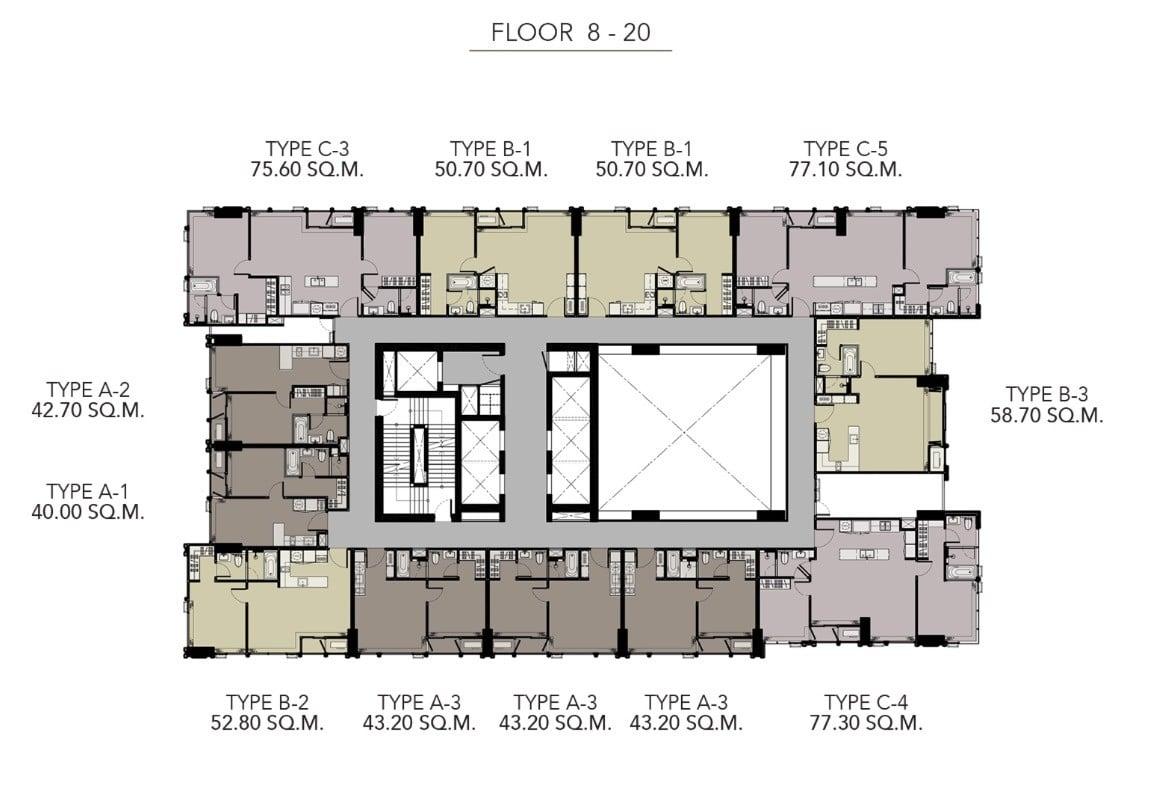 HYDE-Heritage-Thonglor-Floor Plan 8-20